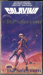 Galaxina (1980) stars Dorothy Stratten (collectible sci-fi VHS tape)