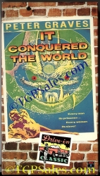 It Conquered the World - camp 1950's sci-fi - Peter Graves & Beverly Garland (collectible VHS tape) Like new!