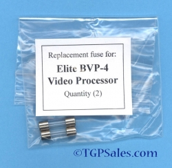 Replacement power FUSE for Elite BVP-4 Video Processor