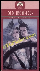 Old Ironsides - silent classic (collectible VHS tape)