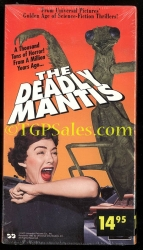 Deadly Mantis  sci-fi - horror  (collectible VHS tape)