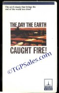 Day The Earth Caught Fire -  1950's sci-fi (used VHS tape)