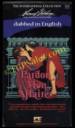 Pardon Mon Affaire - dubbed in English version (used VHS tape)