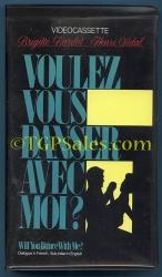 Voulez Vous Danser Avec Moi - French w. Eng subtitles (used VHS tape)