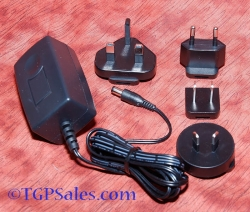 Travel Plug-in switched-mode power supply - 100-240vac input, output 12v dc 1.5a