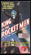 SOLD - King of the Rocket Men (1949) Republic Pictures serial w. Mae Clarke - used VHS