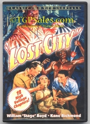 Lost City (1935) - classic action serial -  Alpha Video used DVD