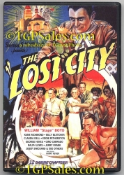 Lost City (1935) - classic action serial VCI -  used DVD 089859847127