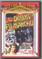 Drums of Fu Manchu (1940) - classic Republic serial - used DVD - VCI 089859829628