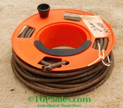 """Drain Cleaning Snake 13/32""""OD x 70' - cable fits Marco, Cobra and others"""