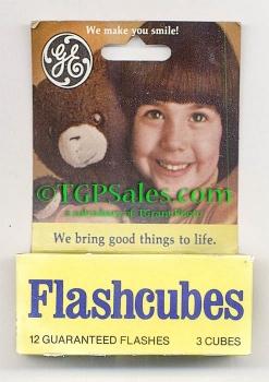 GE Flashcubes - G.E. flashes