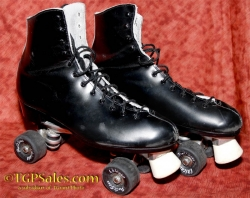 Patins Dominion Roller Figure Skates - size 12
