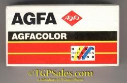 AGFA Agfacolor PAK XRG 200 color film 126 size 24 exp.