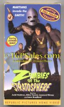 SOLD -- Zombies of the Stratosphere (1952) - Republic Pictures serial -  used VHS - Republic Pictures ISBN: 1-55526-871-4