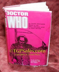 Doctor Who by David Whitaker - rare import hardback book - 1964 1st edition - Based on the B.B.C. television serial
