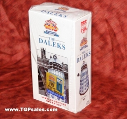 Doctor Who: The Daleks 30th Anniversary (1965, 1988) CBS/FOX Home Video VHS, ISBN: 0-7939-4795-2