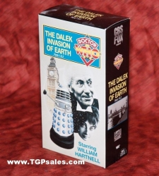 Doctor Who: The Dalek Invasion of Earth Parts 1 & 2 (1964) CBS/FOX Home Video VHS, ISBN: 0-7939-5947-0