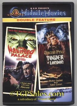 Haunted Palace & Tower of London - Vincent Price (collectible DVD) ISBN 0-7928-5751-8