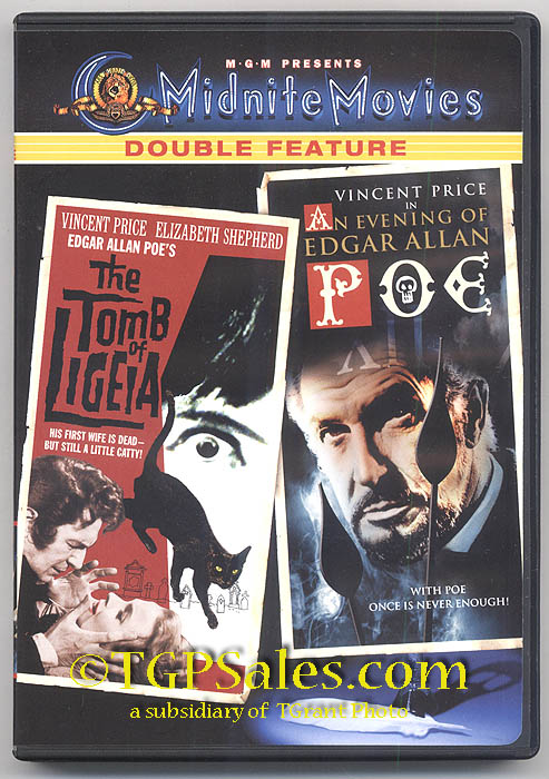 An Evening of Edgar Allan Poe Tomb of Ligeia An Evening of Edgar Allan Poe Vincent Price DVD