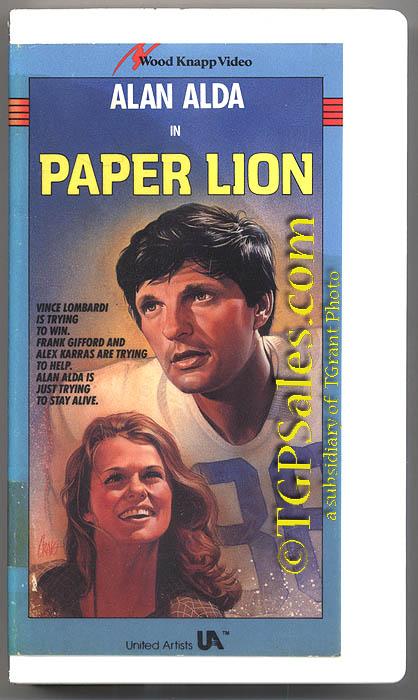 paper lion alan alda lauren hutton not on dvd isbn