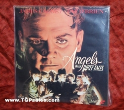 Angels with Dirty Faces - James Cagney  (collectible Laserdisc)