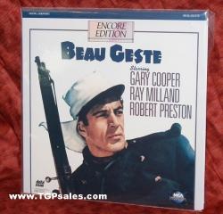 Beau Geste - Gary Cooper  (collectible Laserdisc)