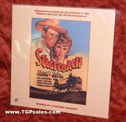 Stagecoach - John Wayne - Western (collectible Laserdisc)
