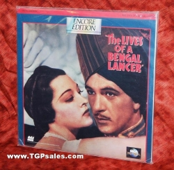 Lives of a Bengal Lancer - Gary Cooper  (collectible Laserdisc)