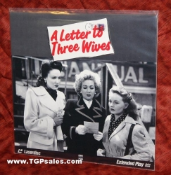 A Letter to Three Wives - Jeanne Crain - Linda Darnell - Ann Sothern  (collectible Laserdisc)