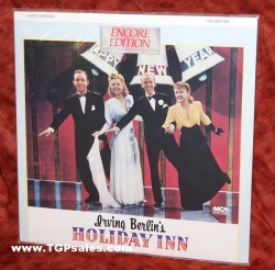 Holiday Inn - Bing Crosby - Fred Astaire - Irving Berlin Musical  (collectible Laserdisc)