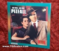 Pitfall - Dick Powell, Jane Wyatt, Lizabeth Scott  (collectible Laserdisc)