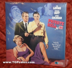 Private Hell 36 - Ida Lupino, Howard Duff (collectible Laserdisc)