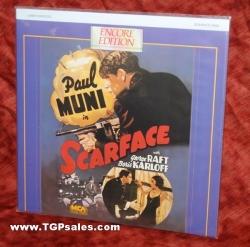 Scarface - Paul Muni - George Raft (collectible Laserdisc)