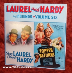Laurel & Hardy and Friends Volume Six plus Topper Returns (collectible Laserdisc)