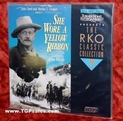 She Wore a Yellow Ribbon - John Wayne - Western (collectible Laserdisc)