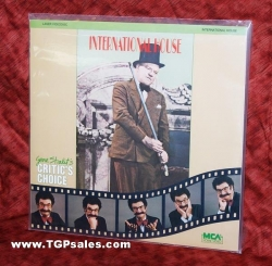International House - W.C. Fields (collectible Laserdisc)