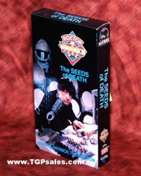 Doctor Who: The Seeds of Death (1963) CBS/FOX Home Video VHS