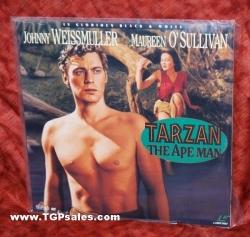 Tarzan the Ape Man (1932) Johnny Weissmuller (collectible Laserdisc)