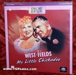 My Little Chickadee - Mae West - W.C. Fields (collectible Laserdisc)