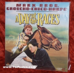 Day at the Races - Marx Brothers (collectible Laserdisc)