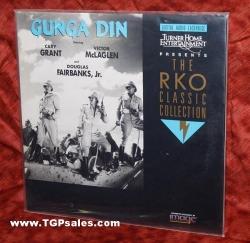 Gunga Din - Cary Grant - Victor McLaglen  (collectible Laserdisc)
