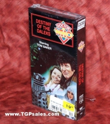 Doctor Who: Destiny of the Daleks (1979) CBS/FOX Home Video VHS, ISBN: 0-7677-8493-6