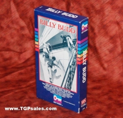 Billy Budd (1962) CBS/FOX Home Video VHS, Key Video