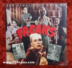 Freaks - remastered1932 horror film (collectible Laserdisc)