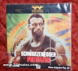 Predator - Arnold Schwarzenegger - Action  (collectible Laserdisc)