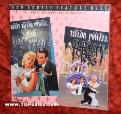 Broadway Melody of 1936 and 1938 - musicals (Classic collectible Laserdisc set)