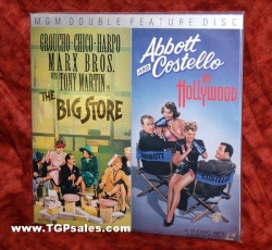 Marx Brothers - Abbott & Costello laserdiscs - Big Store + A&C in Hollywood (Classic collectible set)