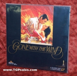 Gone with the Wind (Classic collectible laserdisc set)
