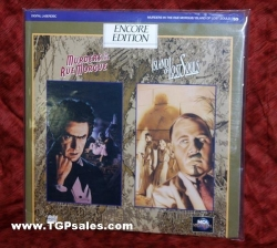 Murders in the Rue Morgue plus Island of the Lost Souls  (Classic collectible Laserdiscs)