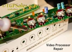 Repair Service for Elite BVP-4 and BVP-4 PLUS Video Processor